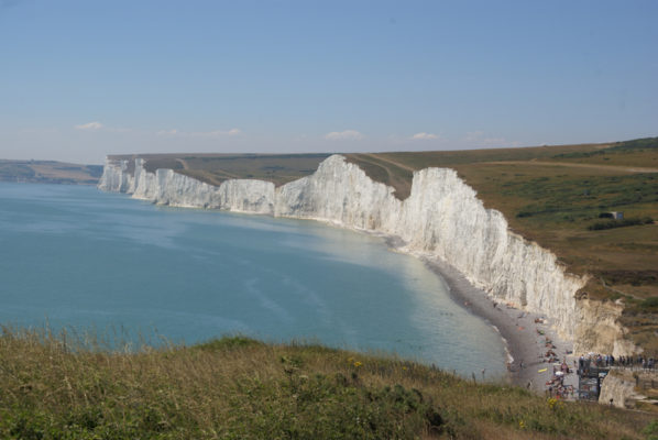White Cliffs to the West of Beachy Head